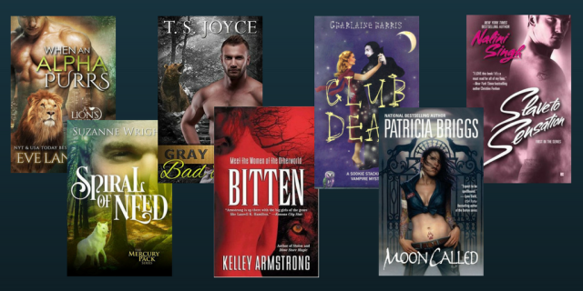 shifter romance covers