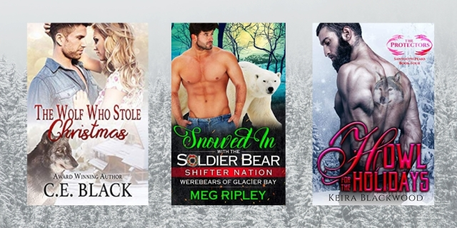paranormal shifter books christmas holidays