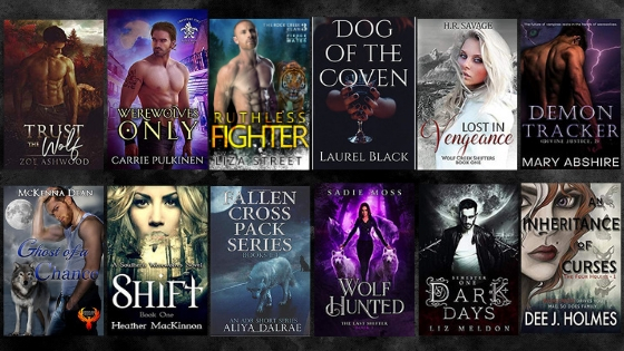 wolf shifter all 2